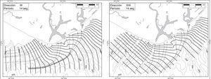 Oleaje distante del oeste y suroeste, en períodos de 14 segundos. Fuente: Puertos Mexicanos (1991).