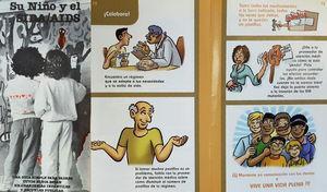 Folletos de Estados Unidos (California y Nueva York) dirigidos específicamente a la comunidad latina.