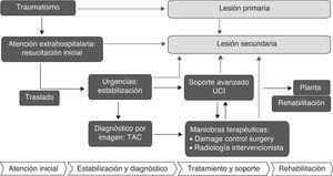 Marco conceptual para el estudio epidemiológico del trauma.