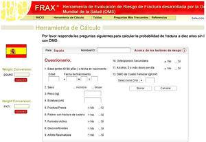 Página Web FRAX. (Disponible en http://www.shef.ac.uk/FRAX.)
