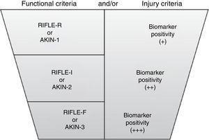 Nuevos criterios para el diagnóstico de lesión renal aguda. De: Acute Dialysis Quality Initiative (ADQI) [consultado 10 Ene 2013]. Disponible en: www.ADQI.org