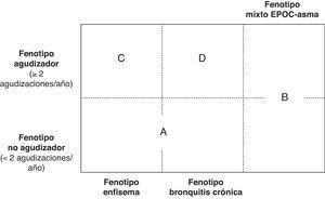 Fenotipos clínicos de la EPOC.