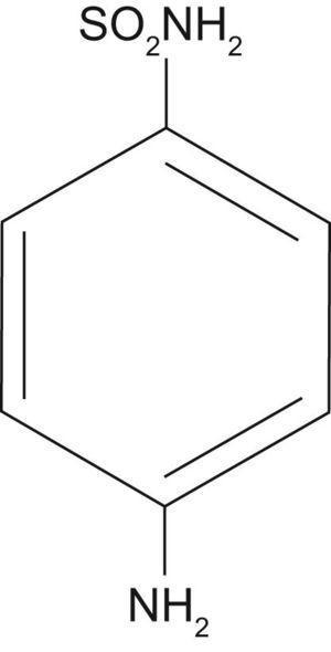Sulfanilamida. Las figuras siguientes se editaron previamente en el capítulo de formación continuada: Tetraciclinas, sulfamidas y metronidazol.