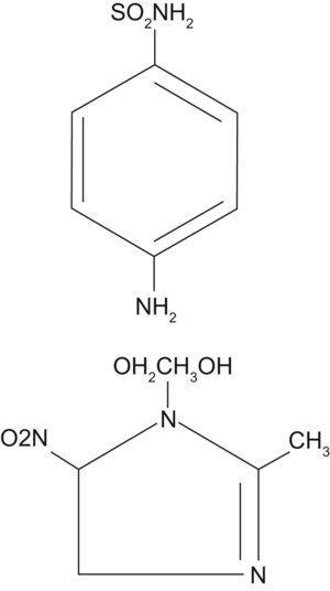 Metronidazol. Las figuras siguientes se editaron previamente en el capítulo de formación continuada: Tetraciclinas, sulfamidas y metronidazol.