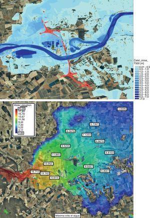 Estudio de los efectos hidráulicos de una nueva carretera sobre el río Fluvià.