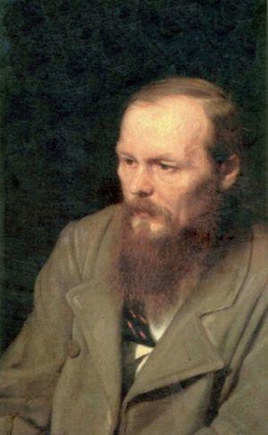 Fiódor M. Dostoievski (1821-1881) en un retrato de Vasili G. Perov (1833-1882), año 1872.