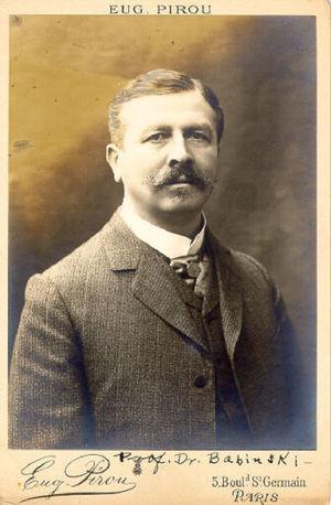 Joseph François Felix Babinski (1852-1932).