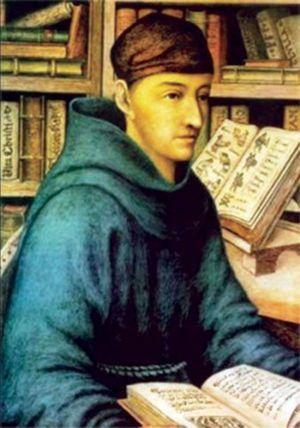 Fray Bernardino de Sahagún.