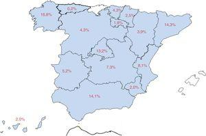 Procedencia geográfica.