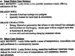 Informe de la compañía British American Tobacco, 1993. Número Bates 500259499.