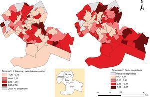 Determinantes sociales según las dimensiones en Cuiabá, Mato Grosso, Brasil (2006-2016). TB: tuberculosis.