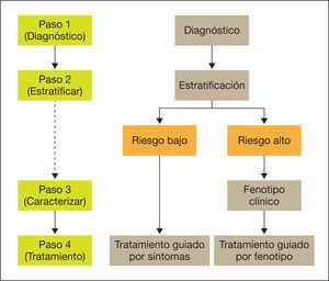 Proceso de la atención inicial al paciente con EPOC.