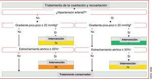 Tratamiento de la coartación y recoartación aórtica. <span class=