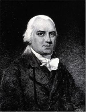 Robert Willan, the father of modern dermatology. Source: Wikimedia Commons – Robert Willan. Photograph by A. C. Cooper.47