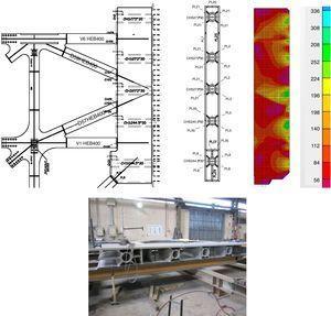 Análisis por elementos finitos del elemento de anclaje y fabricación del mismo.