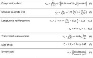 Summary of MASM general equations.