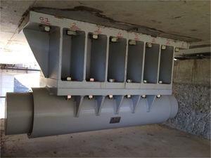 Ejemplo de dispositivo sísmico tipo PDS.