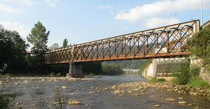 Vista general del puente.