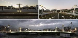 Vistas del puente terminado (Fotos: Carlos Garmendia).