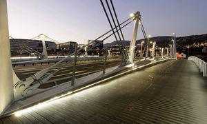Vista del puente terminado (Foto: Carlos Garmendia).