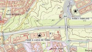 Localización del desarrollo de la nueva sede.