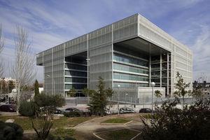Edificio del nuevo Centro de Proceso de Datos en la calle Abelias (fase I) [1].