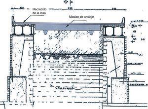 Planteamiento de una solución para un puente de fábrica.