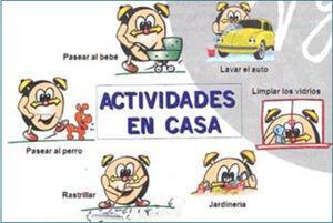 Actividades físicas en casa Actividades que pueden ser incluidas en la rutina diaria para cumplir la recomendación de actividad física.