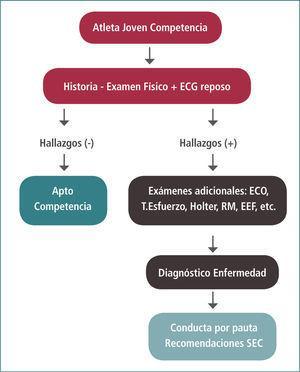 Recomendaciones evaluación cardiovascular pre participativa sociedad europea de cardiología. 2004