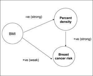 Asociación entre densidad mamográfica y cáncer de mama Boyd N, Cancer Epidemiol Biomarkers Prev 2006; 15(11): 2086-2092.