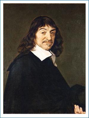 Retrato de René Descartes realizado por el pintor holandés Frans Hals en 1648. Actualmente la obra se encuentra en el Museo del Louvre.
