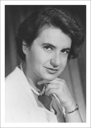 Rosalind Franklin. (Fuente: http://profiles.nlm.nih.gov/ps/access/kRbbJn_.jpg)