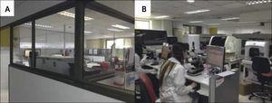 Modelos de Laboratorio. A) Laboratorio cerrado. B) Laboratorio abierto.