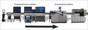 Sistema preanalítico EngenTM de Johnsons y Johnsons, Chile.