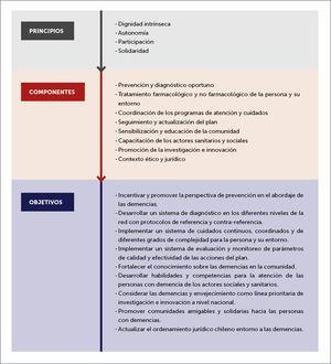 NIVELES DE RACIONALIDAD DEL PLAN DE DEMENCIAS VERSIÓN PRELIMINAR FUENTE: MINISTERIO DE SALUD, 2015.