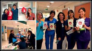 Participación de champions clínicos en el Día Mundial de Prevención de Lesiones por Presión. Año 2017