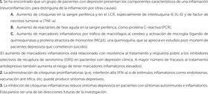 Bases para la hipótesis del rol de la inflamación en la depresión mayor.