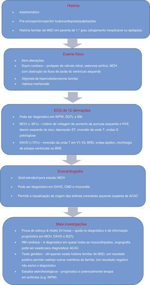 Algoritmo de avaliação de atletas com condições capazes de causar <span class=