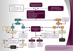 Algorithm for extended length-of-stay surgical patients.