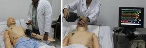 Ejemplos de ejercicios de simulación con maniquí SimMan®.