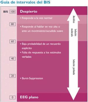 Interpretación del BIS.