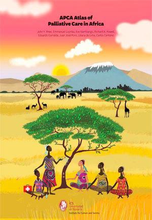 Portada del Atlas de Cuidados Paliativos en Africa, publicado en 2017.