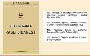 Some of Paulescu's anti-Semitic texts