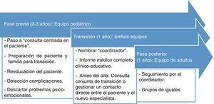 Cronograma de la transición.