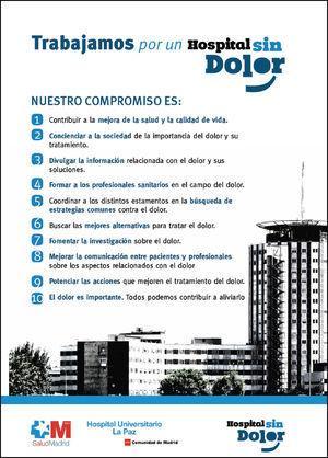 Cartel informativo de la Comisión.