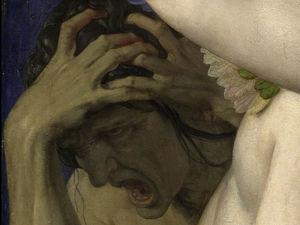 Representación clásica de una cefalea.