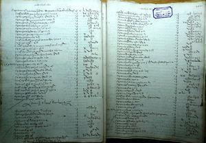 Libro mayor de cuentas del receptor general de la Obra (1535-1536). ACT, OF-1264, f. 261v-262r.