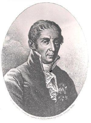 Alessandro Volta (1745-1827).