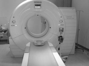 Tomógrafo computarizado de 256 cortes. Instituto Nacional de Cardiología Ignacio Chávez.