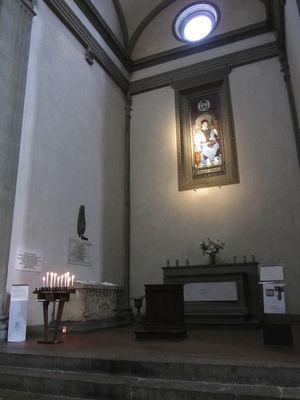 """Capella Stenoniana"" (Niels Stensen chapel), Basilica of San Lorenzo in Florence, Italy."